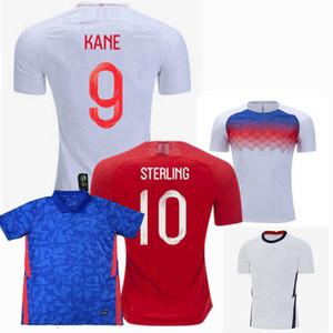 20 21 ANGLETERRE équipe nationale de football maillot MAGUIRE STERLING DELE Rashford KANE SANCHO 2019 2020 2021 hommes football femmes enfants chemise 4XL