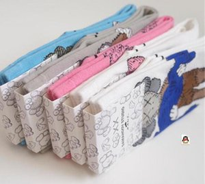 Teenager Mode Damensocken Socken aus Baumwolle mit Druck Netter Cartoon-Charakter 3pairs / 6pcs