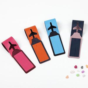 4styles Koffer Gepäckanhänger doppelte Farbe Label Bag Anhänger Handtasche Portable Travel Zubehör Name ID Adresse Tags Scheckkarte FFA2893