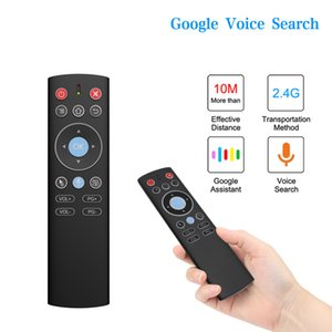 T1 W0118 Mini 2.4G Wireless Air Mouse Voice Control Gyro IR Remote For X88 PRO H96 HK1 T95 MAX Q Plus TX6 TV BOX GooglePlay Store Youtube