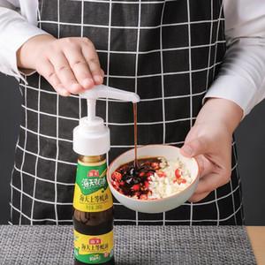 Conveniente pressão do bocal da bomba cabeça do pulverizador Xarope Oil Bottle Household Oyster Bomba molho do tipo push Ferramentas Ferramentas Oil Dispenser de cozinha