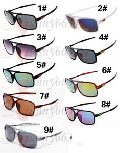 SOMMER-HEISSE Mannart- und weisesonnenbrille trägt Schauspielfrauengläser zur Schau, die das freie Verschiffen des Sport-im Freiensonnenbrille-Fahrrad-Glases 9colors radfahren