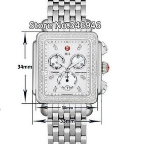 trasporto libero Firma DECO Diamonds MOP Dial Diamond MWW06P000099 Watch Women