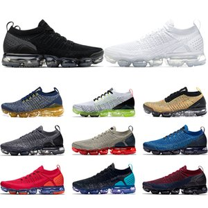 Nike Air Vapormax TN Plus 2.0 Koşu Ayakkabı Üçlü Siyah Beyaz Gym Mavi Oreo Olimpiyat Erkekler Kadınlar Eğitmen Tasarımcı Sneakers Boyut 36-45