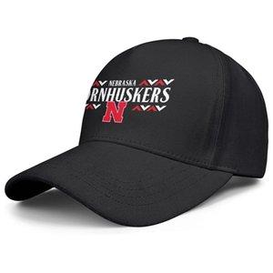 Fashion Nebraska Cornhuskers football wordmark logo Unisex Baseball Cap Golf Stylish Trucke Hats Black Camouflage Logo Effect Flag White