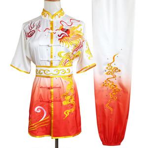 Chinese Wushu Kungfu uniforme vestiti arti marziali soddisfare taolu vestito changquan partita indumento per uomini donne bambini ragazza del ragazzo bambini adulti