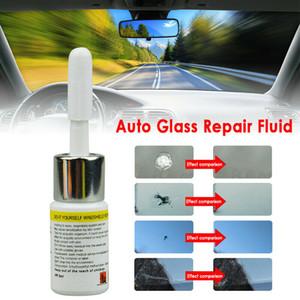 Otomotiv Cam Tamir Akışkan Araba Pencere Camı Çatlak Çip Onarım Aracı Takımı Ön cam Scratch Çatlak Yeni # py10 Restore
