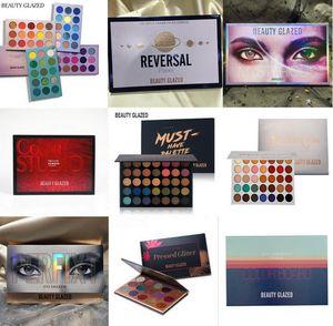 Reversão beleza vitrificada Sombra Paletas coleção Conselho Cor misterioso planeta Cor Studio deve ter Maquiagem Impressionado Private Label Ey