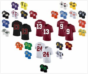 Custom Stanford Cardinal Stuart Head Jersey 18 Malik Antoine 3 Simi Fehoko 13 Jay Symonds 24 Osiris St. Brown 9 Kendall Williamson 21 S-3XL