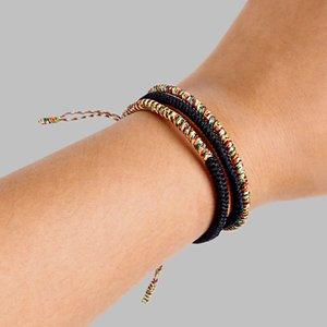 Handmade Tibetan Buddhist Lucky Charm Tibetan Bracelets & Bangles For Women Men King Kong Knots Rope Budda Bracelet