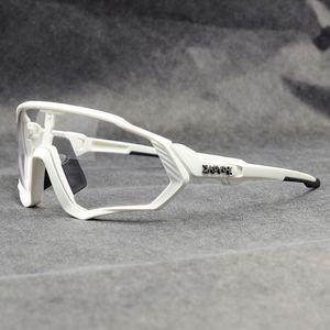 2020 Photochromic Ciclismo Óculos Óculos Ciclismo Pesca Desportiva Sunglasses MTB bicicleta Óculos Fietsbril Goggles bicicleta Eyewear Casecustom