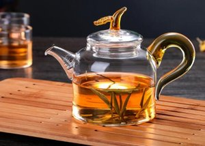 Glass kettle tea kettle tea set resistant to high temperature filtration