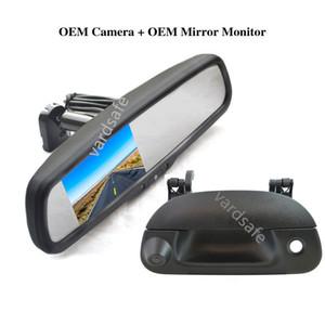 뒤통수 핸들 뒤보기 백업 카메라 + Ford F150 F250 F350 F450 F550 1997-2007 차량용 미러 모니터