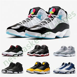 Six 6 6s Rings Basketball Shoes Jumpman 2020 Taxi Concord Space Jam South Beach Confetti Defining Moments Light Blue For Mens Women Sneakers
