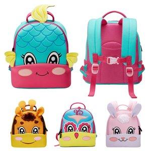 Children Boy Girl Preschool Backpack Toy Animal Print Toddler Kids Mini School Bag Lovely Satchel Travel Lunch Bags