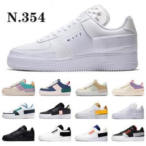 2020 N.354 Erkek Tipi GS Casual Düşük Üst 1 07 Kadın N354 Siyah Beyaz Spor Eğitmenler Tasarımcı Ayakkabı 36-45