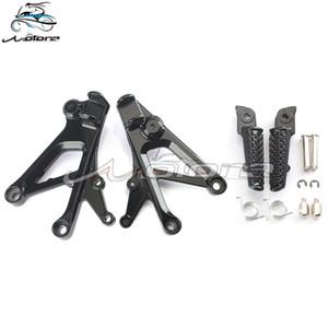 Frente Estriberas clavijas del pie del reposapiés pedales Soporte para CBR600 F4 CBR600F4 1999-2000 CBR600F4i CBR600 F4i 2001-2006