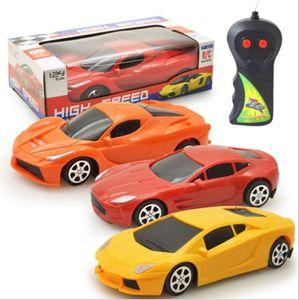 RC SportsCar Coches de control remoto de coches Coca-Cola Mini RC Radio Control Remoto de competición micro 01:24 2 Canal de coches de juguete Z0478