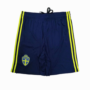 Top 2020 2021 Sweden Soccer Shorts 20 21 home away FORSBERG IBRAHIMOVIC football Sports shorts pants S-2XL