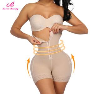 Amante de la cintura alta Bragas de control de cintura para la recuperación del vientre Compresión Butt Lifter adelgaza la ropa interior postparto faja Y19070301