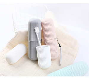 Travel Toothpaste Toothbrush Protect Holder Cup Case Travel Camping Toothbrush Storage Box Cover Copertura gargarismo domestico libera la nave