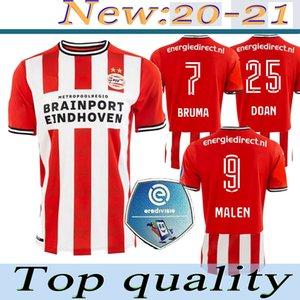 20 21 PSV EINDHOVEN soccer jersey 2020 2021 MALEN camisa de futebol IHATTAREN DUMFRIES GAKPO BRUMA LAMMERS men kids kit football shirt