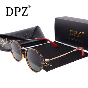 Top Tasarım Vintage Polarize Güneş Gözlüğü Erkekler Kadınlar Gözlük Farreri Serisi F2447 Objektif 49-21 3N Koyun Deri Ayaklar Ücretsiz Kargo