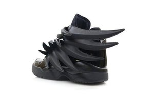 2019 Luxury Designer Jeremy x Original Wings 3.0 Triple Black Sneakers Womens Fashion Casual Shoes Vintage Personality Boy Girl Shoes L22