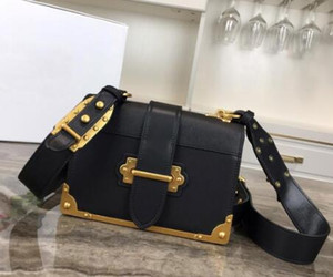 Newset Chain Shoulder Bags 20cm Insert buckle Purse Square Handbags Genuine Leather Women Clutch Messenger Bag Crossbody Totes
