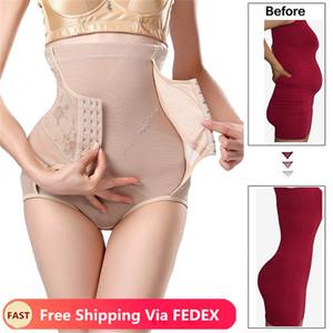 Da cintura para instrutor emagrecimento ÍNTIMA Body Shapewear Mulheres cintura alta Calcinhas Tummy Controle Butt Lift Puxando Corset Reduzir Shaper