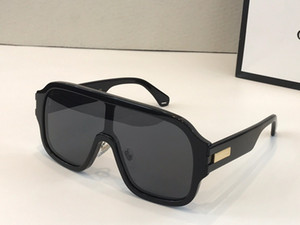 Beliebter Verkauf 0663S Designer-Sonnenbrillen für Frauen Männer quadratische Platte Full-Frame-Arbeit Top-Qualität 0663 Art und Weise Dame großzügigen Stil uv400 Linse