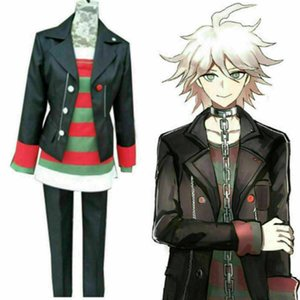 Danganronpa Ultra Despair Girls Komaeda Nagito Uniforme Cosplay Disfraz