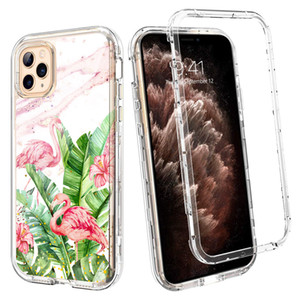 Pour Iphone 11 cas de luxe Marble Case Heavy Duty antichocs pleine Protection du corps Téléphone pour iPhone 11 Pro Max