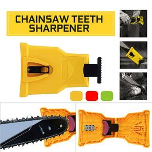 Chainsaw Teeth Sharpener Sharpens Portable Durable Easy File PowerSharp Bar-Mount Fast Grinding Chainsaw Chain Sharpener Tool