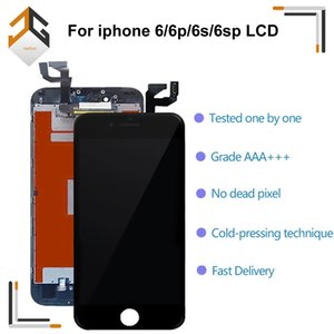 10PCS LCD Display for ipho 6 6p 6s 6sp 4.7 lcd screen with Digitizer Replacement Quality 3D touch White Black