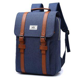 15.6 inch Computer Backpack SchoolBags Handbag Waterproof Laptop Backpack Large Capacity Rucksack for Boys and girls Rucksack hot