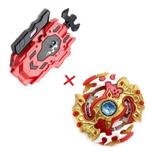 Original Spinning Top Bey Bay Burst B129 B125 With Launcher Metal Plastic Fusion 4D Gift Battle Toys Blade Blades For Children