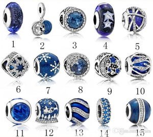 2020 New S925 Sterling silver jewelry Diy Big Hole Loose Beads Fits European Ale Charm For Pandora Bracelets for women Bracelet&Necklace
