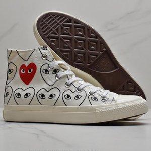All Star 1970s Conversè Dìór Oblique DSM Chuck Fashion Taylor Basket CDG High Top Low Designer Luxury Canvas Men Shoes Slipper Sneakers