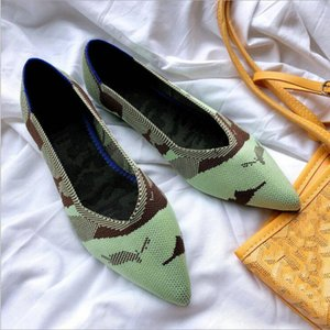 07-29 C01 Impresso Mulheres Flats Flor Slip-On Tecido De Linho De Algodão Confortável Velho Peking Bailarina Sapatos Baixos