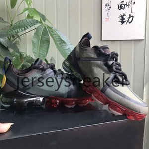 nike air vapormax 2019 CPFM CACTUS BİTKİ FLEA PAZAR erkek koşu ayakkabı en kaliteli gülümseme yüz marka siyah kutu ile erkek eğitmenler moda spor sneakers