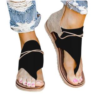 Estate Calzature antiscivolo traspirante piatto Flip Flops Boemia Donne Scarpe Donna Large Size di alta qualità sandali delle donne 2020 MX200407