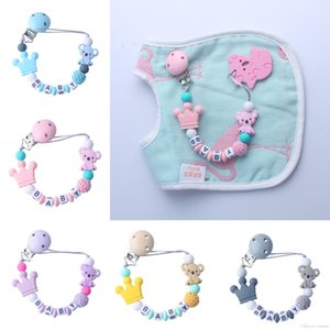 Baby Natural Molars Chain Teethers Toys Cartoon Koala Silicone Teether Rattle Baby Heath Accessories Colorful Teething Ring Play Toys 04