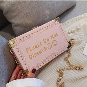 ABAY 2020 النساء حقائب أزياء حلوة فتاة CROSSBODY سلسلة حقيبة نسائية حقائب الكتف حقيبة صندوق رسول