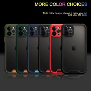 Clear TPU Shockproof Phone case Full protective phone cover colorful for iphone 11 pro 11 pro max 6 7 8 plus x xs