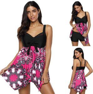 высокая талия большой жирный плюс плюс размер купальники юбка раскол подходят тощий нерегулярные подол юбки угол раскол купальник плоский гибкий стильный набор Бикини
