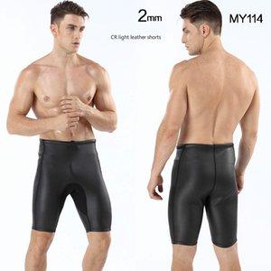 Muta in neoprene uomini Triathlon Scafandro 2 millimetri Mens gomma Abbigliamento Professionale Water Proof Surf pantaloni di bicchierini