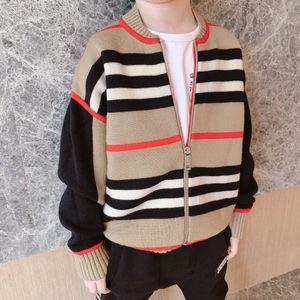 2020 ragazze dei neonati cardigan autunno bambino cotone Cardigan in cotone Jumper Maglieria per bambini abbigliamento per bambini cappotto maglione 2-12T