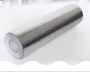 Fonds d'écran Fonds d'écran Fonds d'écran Aluminium Fonds d'écran imperméable Épaissir Cuisine Papier peint 3D Huile Proof Shandy Proof Proof Dust Cuisine Fournitures HWC86