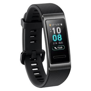 Orijinal Huawei Band 3 Pro GPS NFC Akıllı bilezik nabız Monitörü Akıllı saat spor Izci uyku kol saati Android iPhone Için Izle